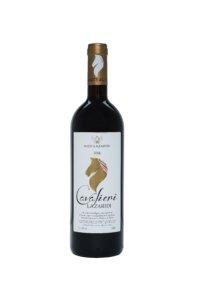 A bottle of Cavalieri Lazaridi Red