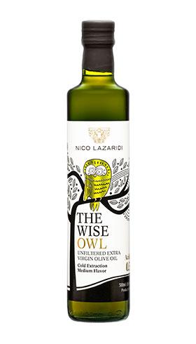 THE WISE OWL ελαιολαδο nico lazaridi