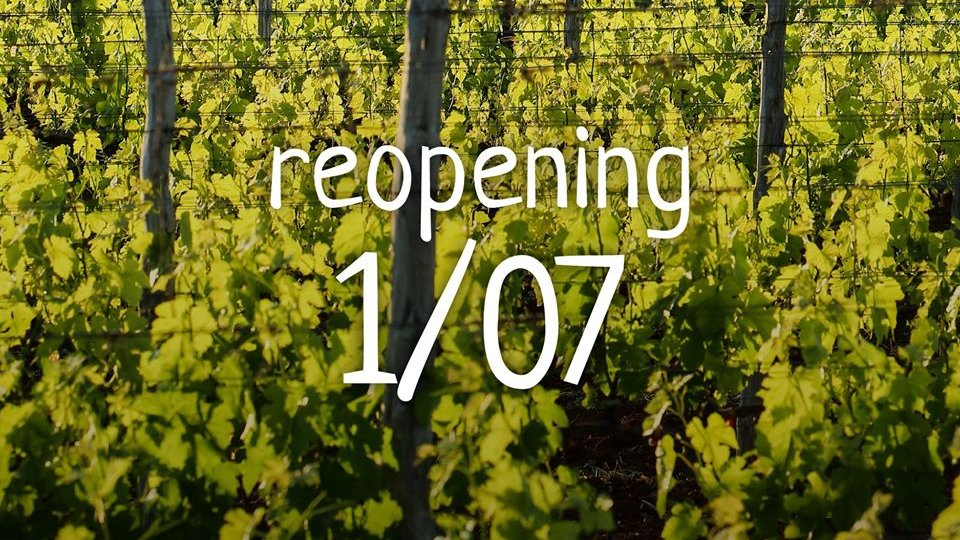 Re-Opening of the winery