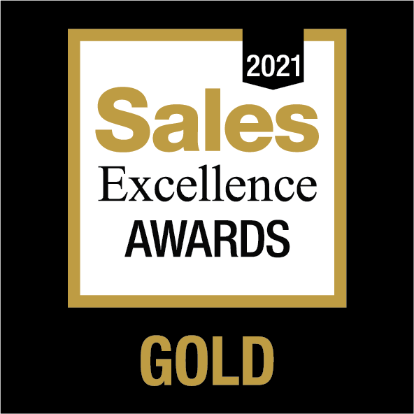 Sales Excellence Awards - GOLD